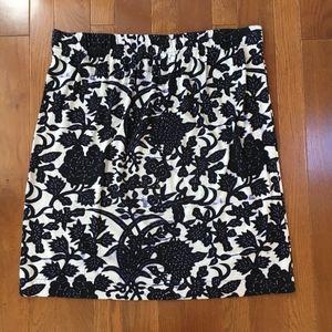 Ann Taylor LOFT  Knit Batik-Inspired Skirt - XL